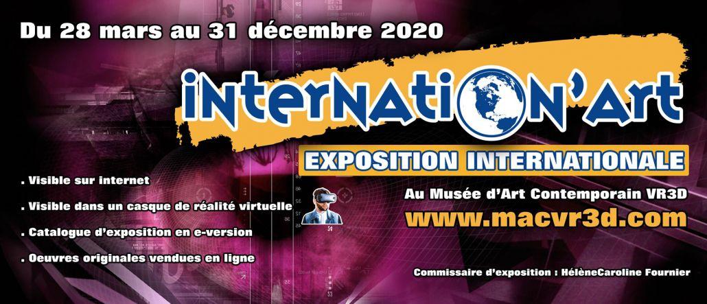 Internation'ART 2020 - Collectif International d'Artistes ARTZOOM - Muriel CAYET