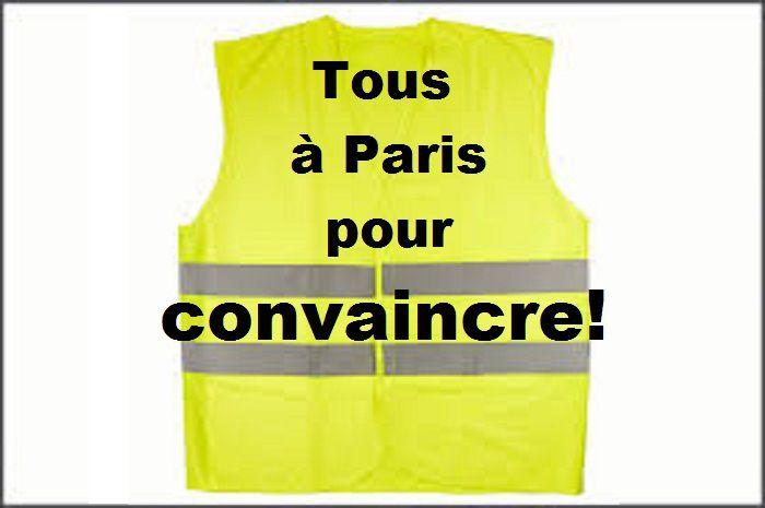 Ce 24 novembre, tous à Paris pour convaincre!