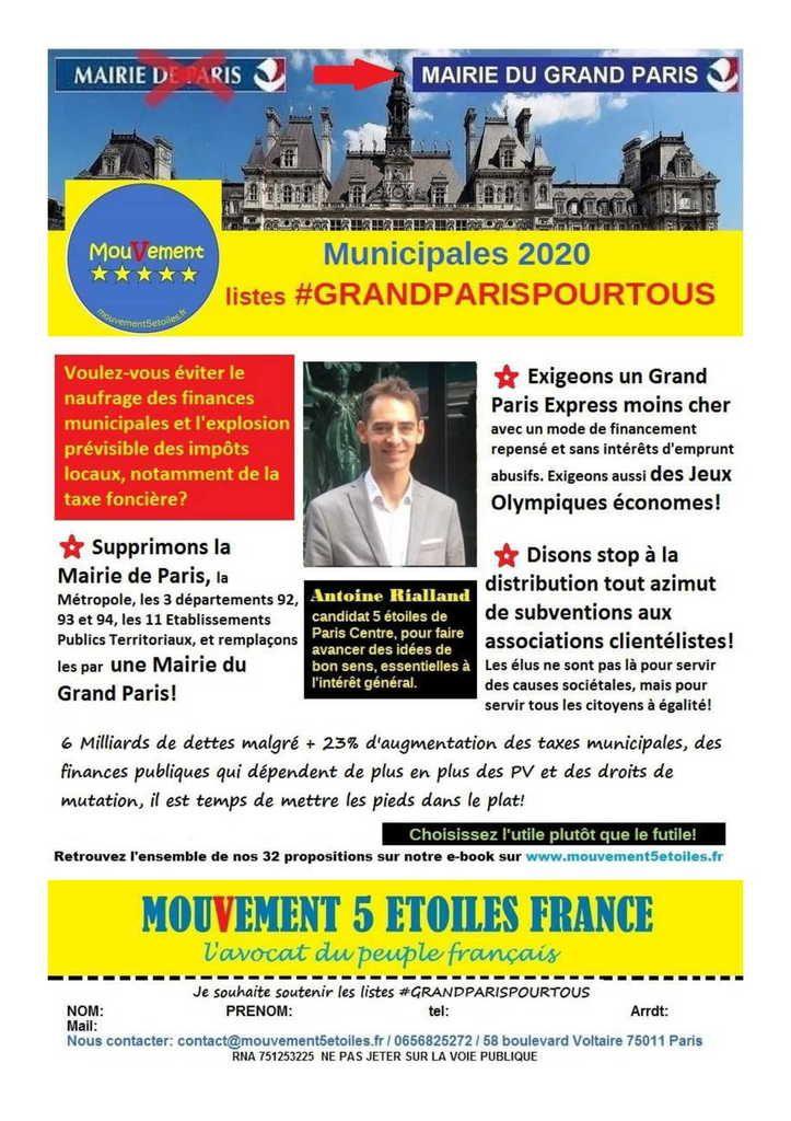 Municipales Paris Centre