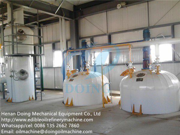 semi-continuous soybean oil refining machine