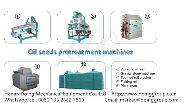 groundnut oil production plant