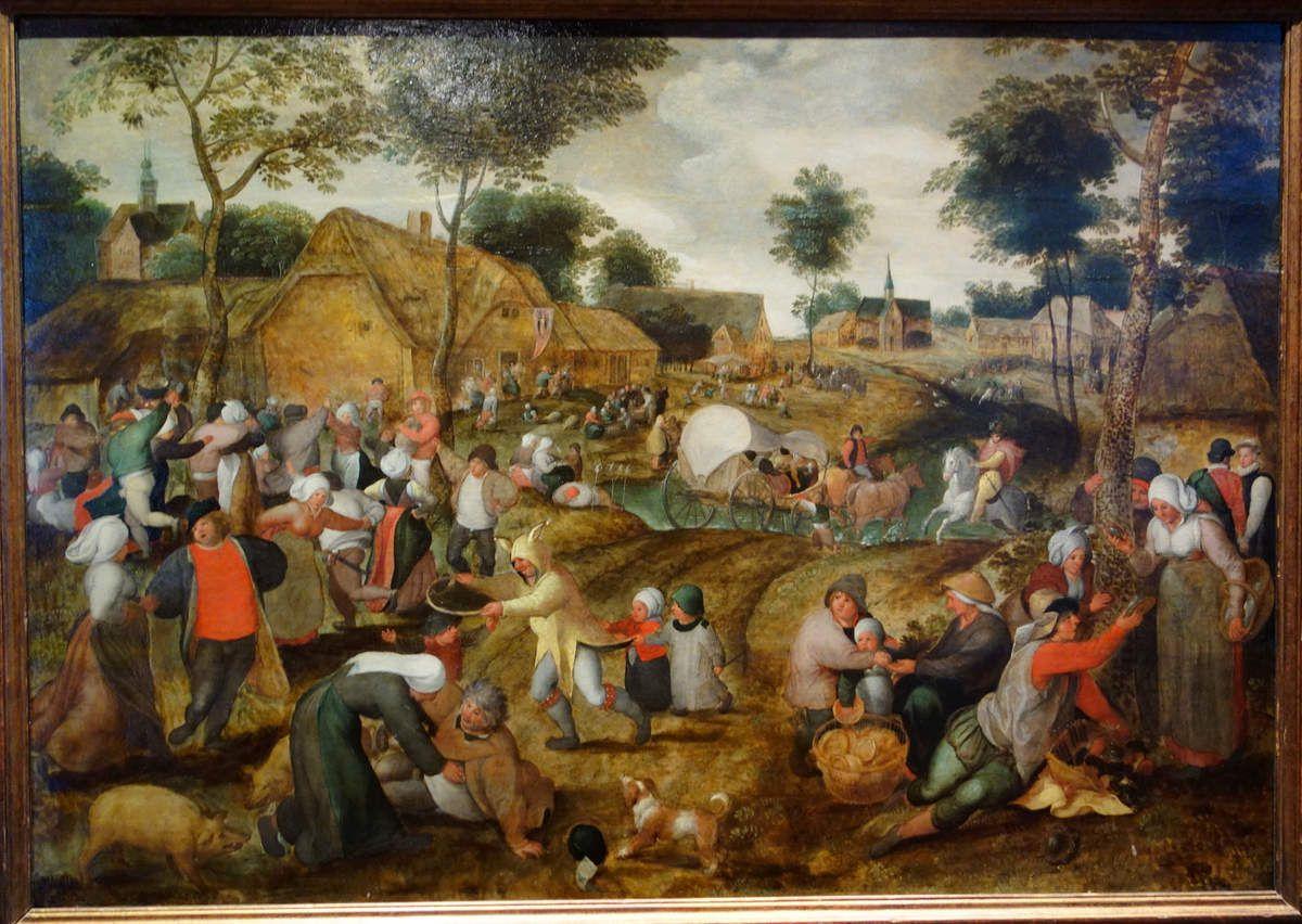 Fêtes et Kermesses au temps des Brueghel au musée de Cassel