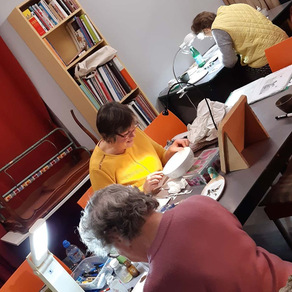 les ateliers hedomadaires...