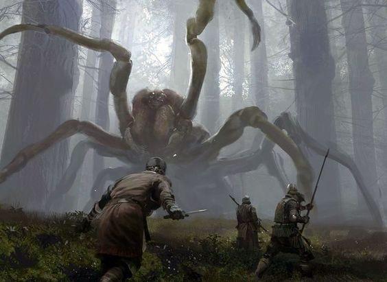 Les araignées de Breth Harken