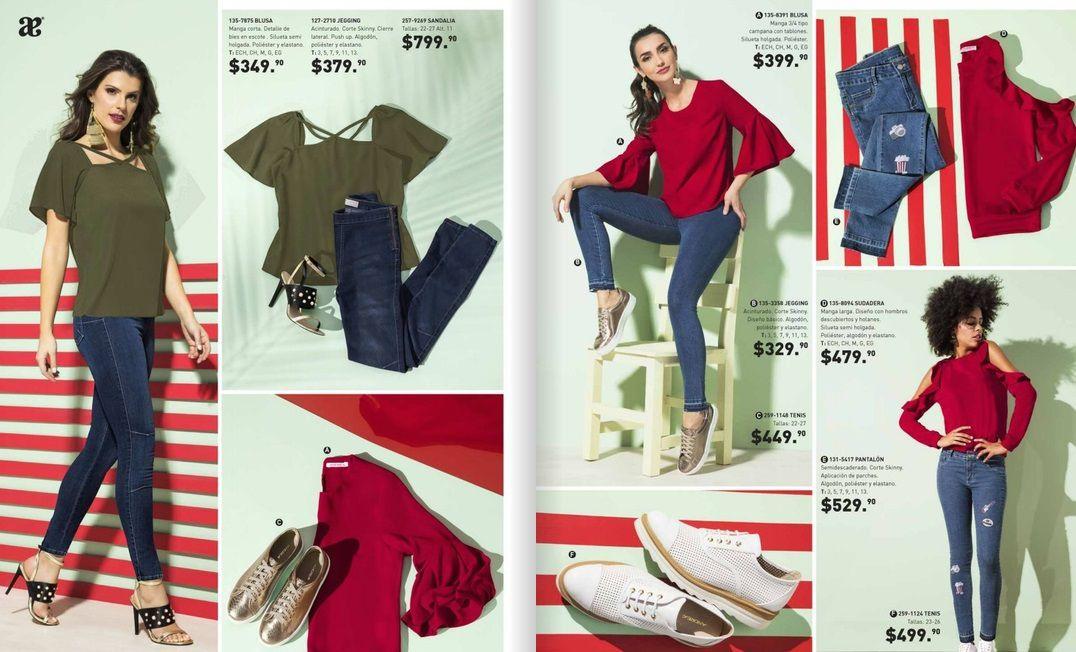 c457a45b2 Con los catalogo moda serán modeladas pos tus estrellas de telenovelas como  digitales Cklass favoritas. Esmeralda Pimentel , Victoria ruffo , Horacio  ...
