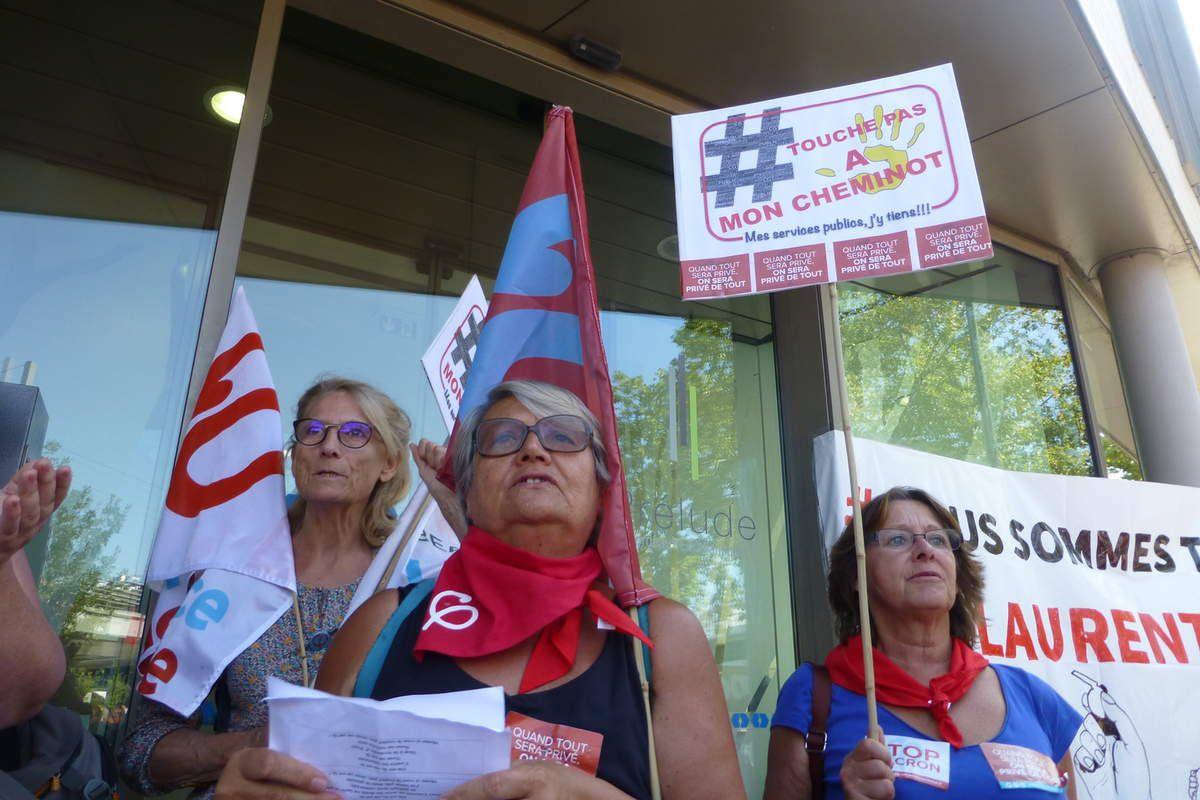 Bordeaux | 500 cheminots pour soutenir Laurent contrôleur bayonnais injustement poursuivi