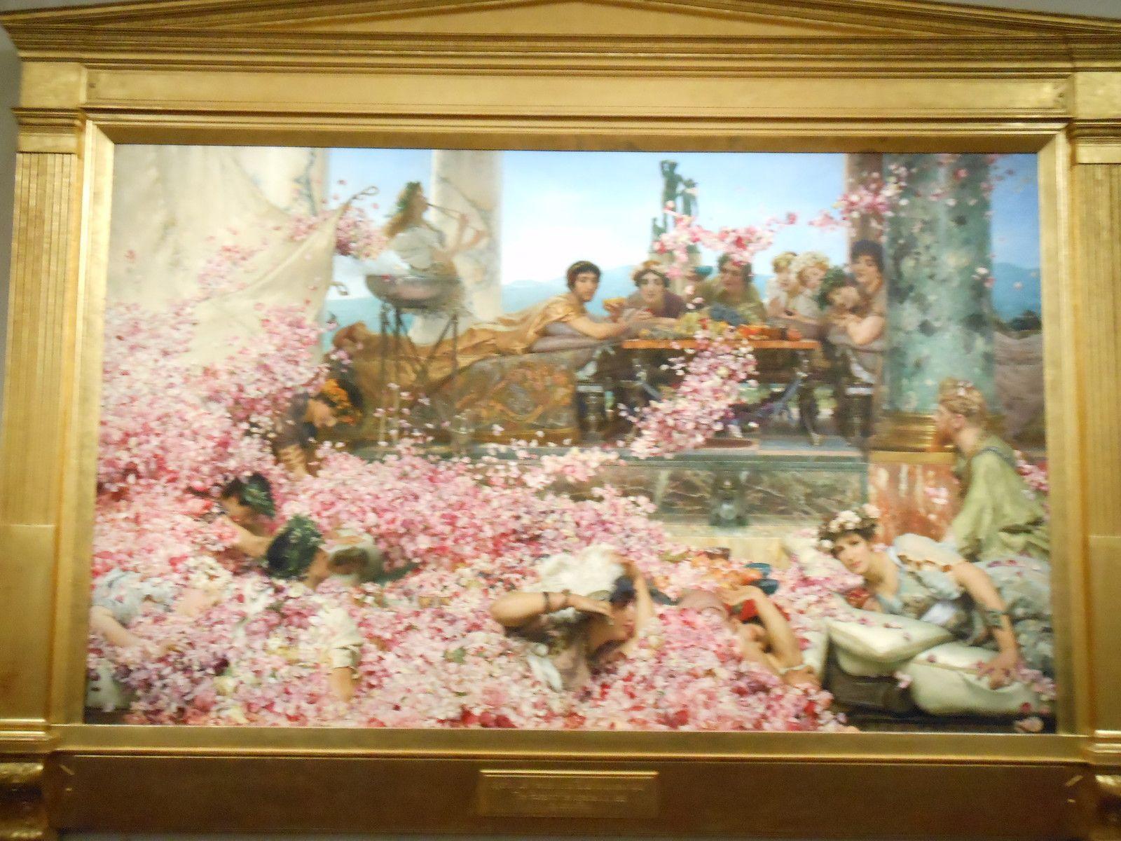 Lawrence Alma-Tadema Les roses d'Héliogabale