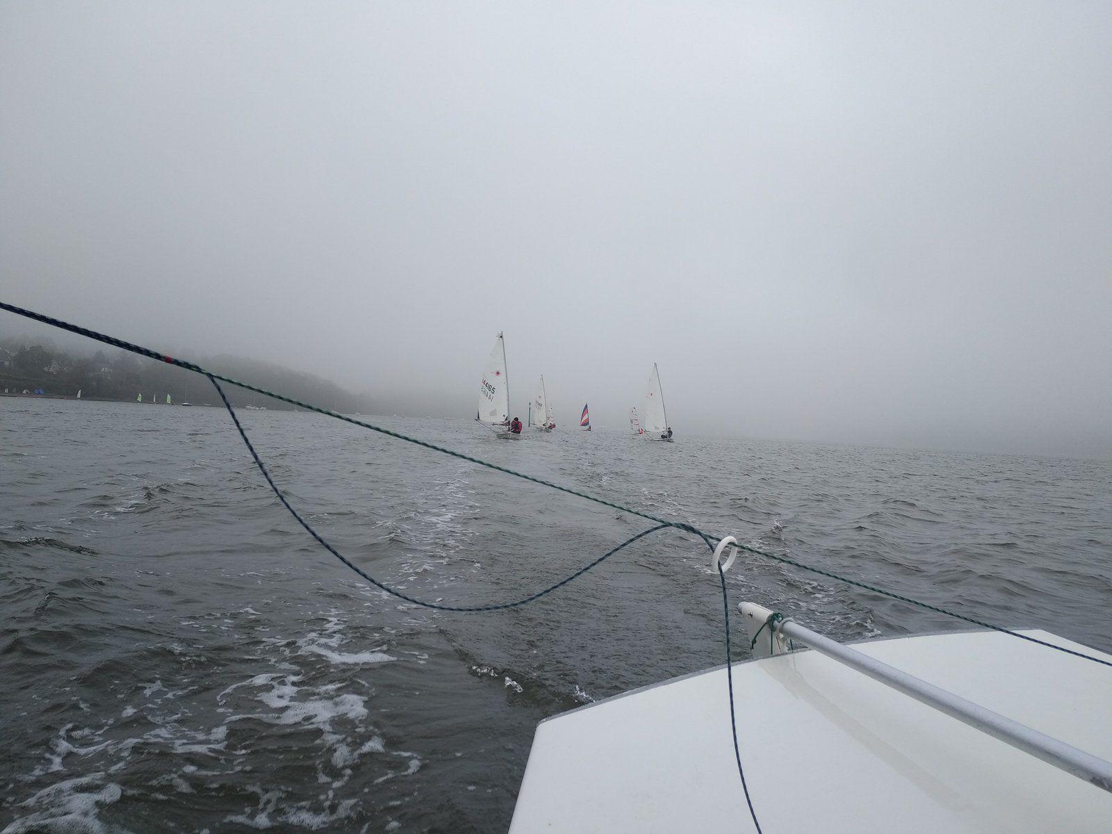 Séance dans la brume