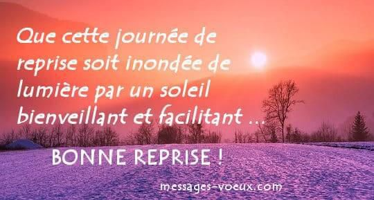 reprise on recommence