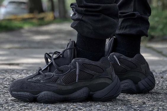 e3207fda7 What could be a more perfect hypebeast sneaker than a F F Yeezy sneaker   While similar to the Yeezy 500 Utility Black