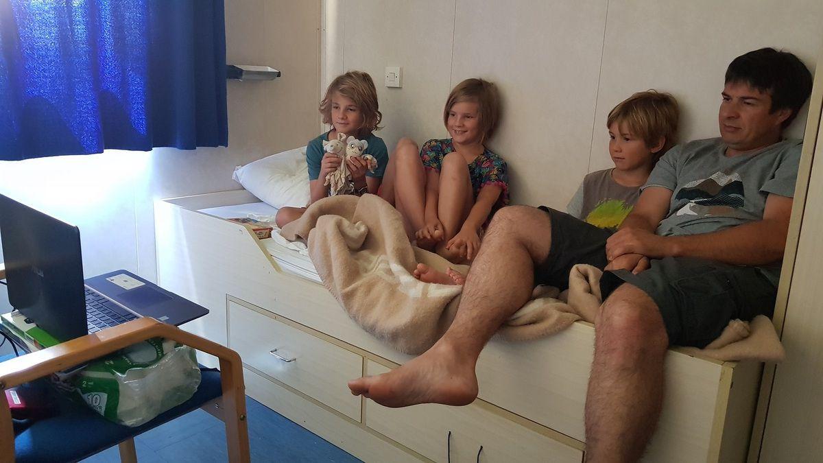 7 jours sur un cargo pour rejoindre Israël avec notre Camping-car, depuis Monfalcone (Italie)