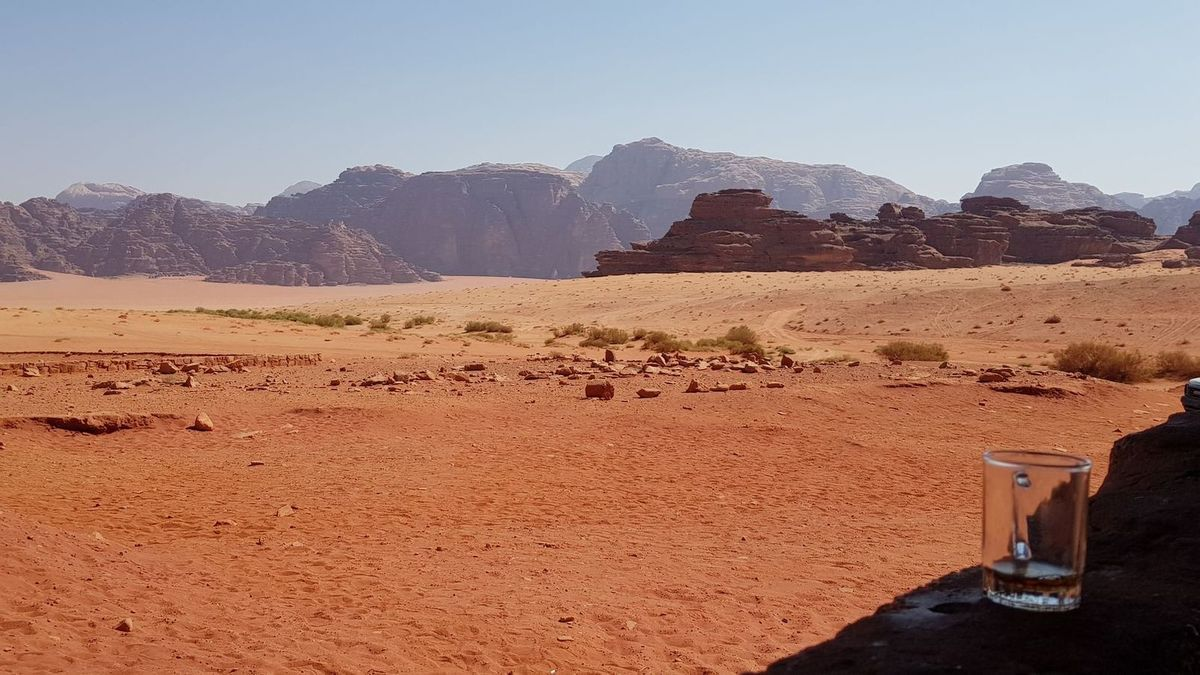 Excursion magique au Wadi Rum !