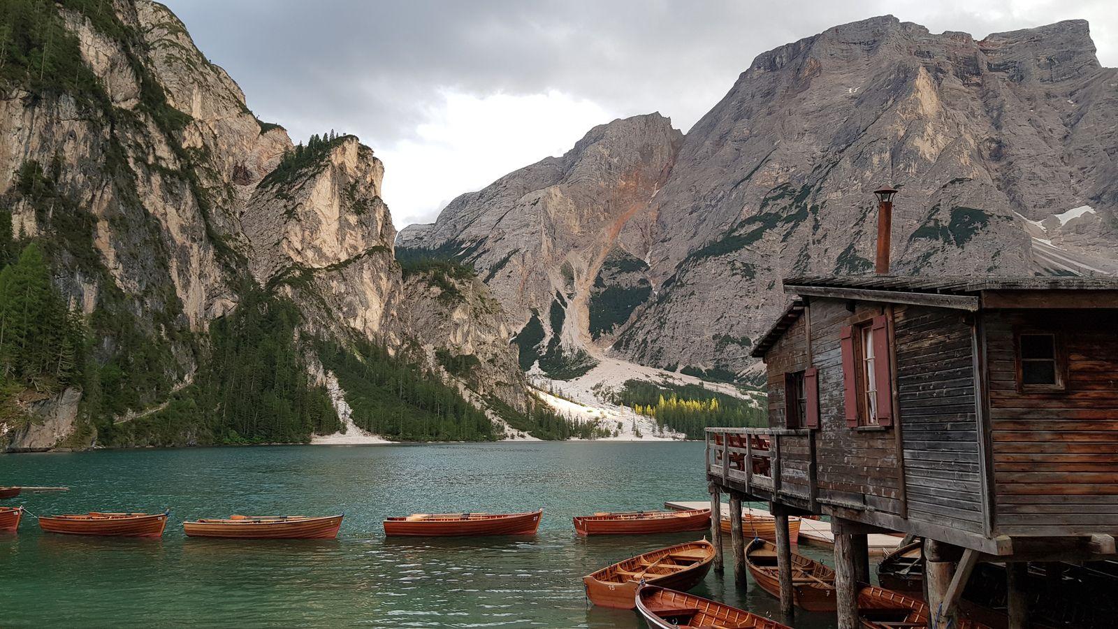 Juillet : 1 mois en Italie et un vrai coup de coeur pour la région des dolomites !