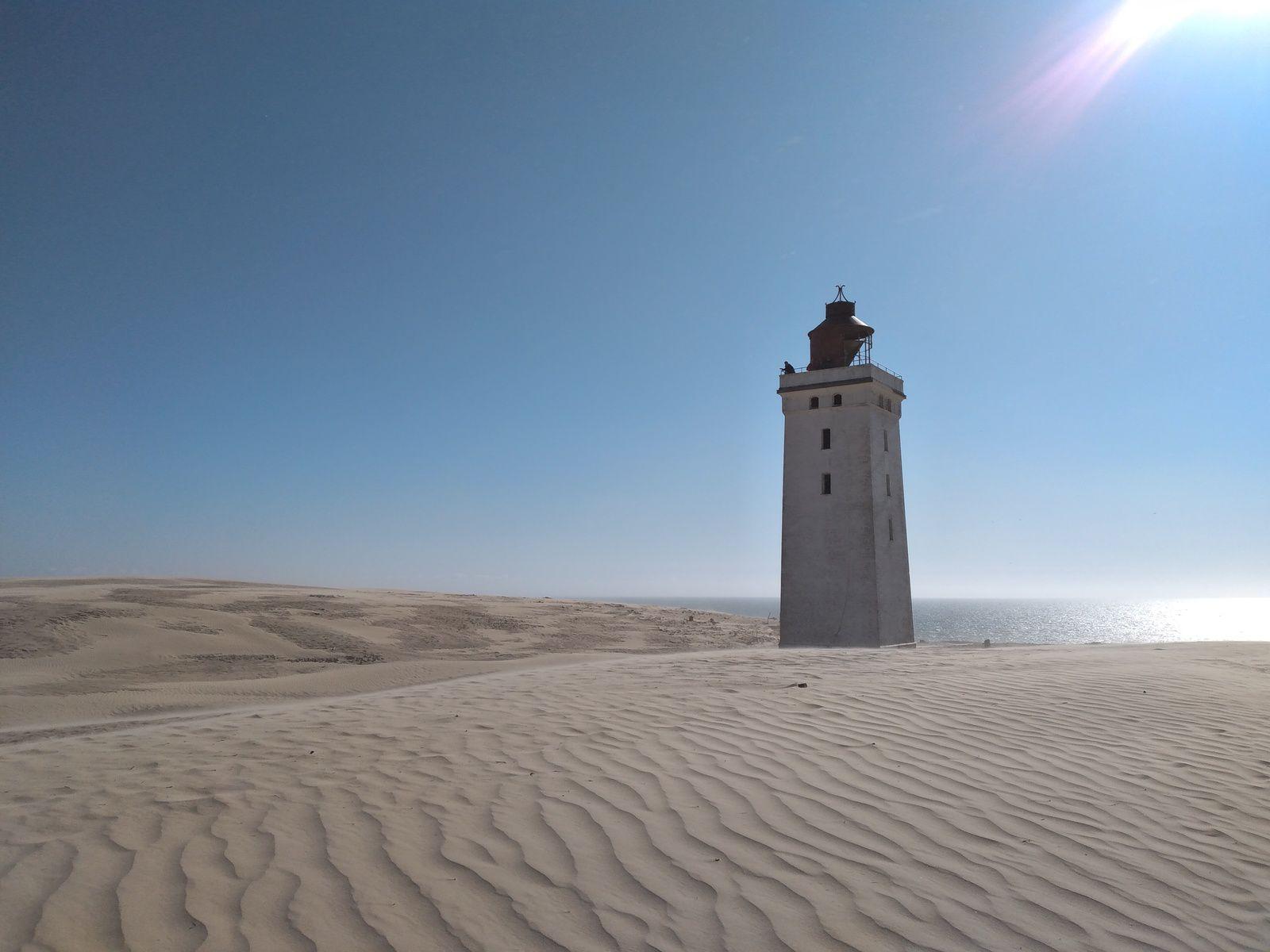 Une tempête de sable au Danemark !