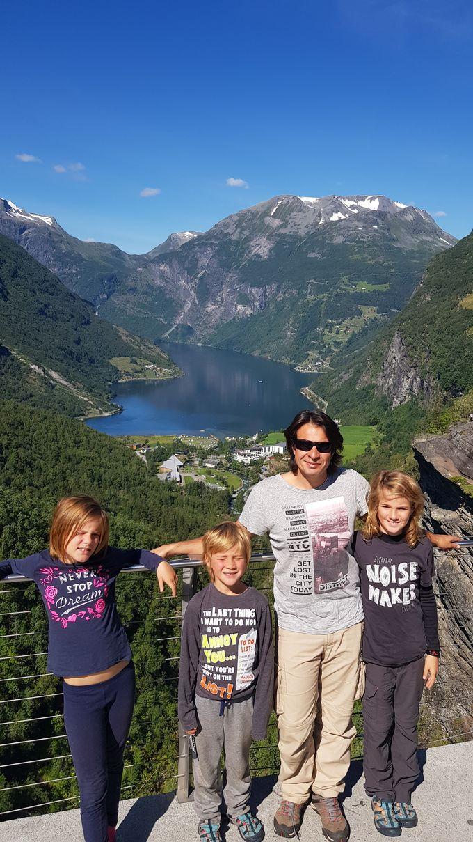 En Norvège, faut savoir faire des lacets !