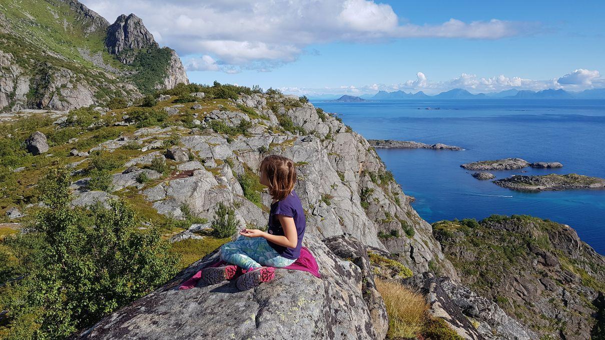 Paysages de carte postale aux Lofoten
