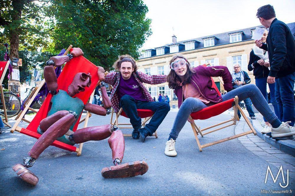 La Compagnie Plume en Scène au Festival des marionnettes - 20 septembre 2017