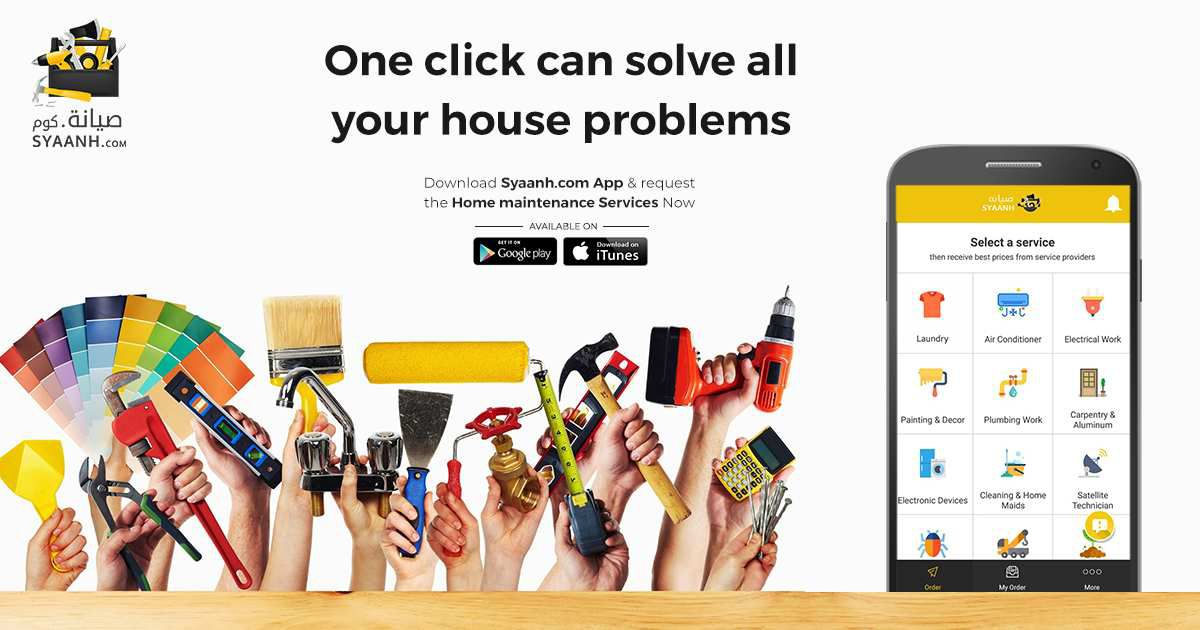 One Stop Solution for all your Home Maintenance Services - syaanhapp