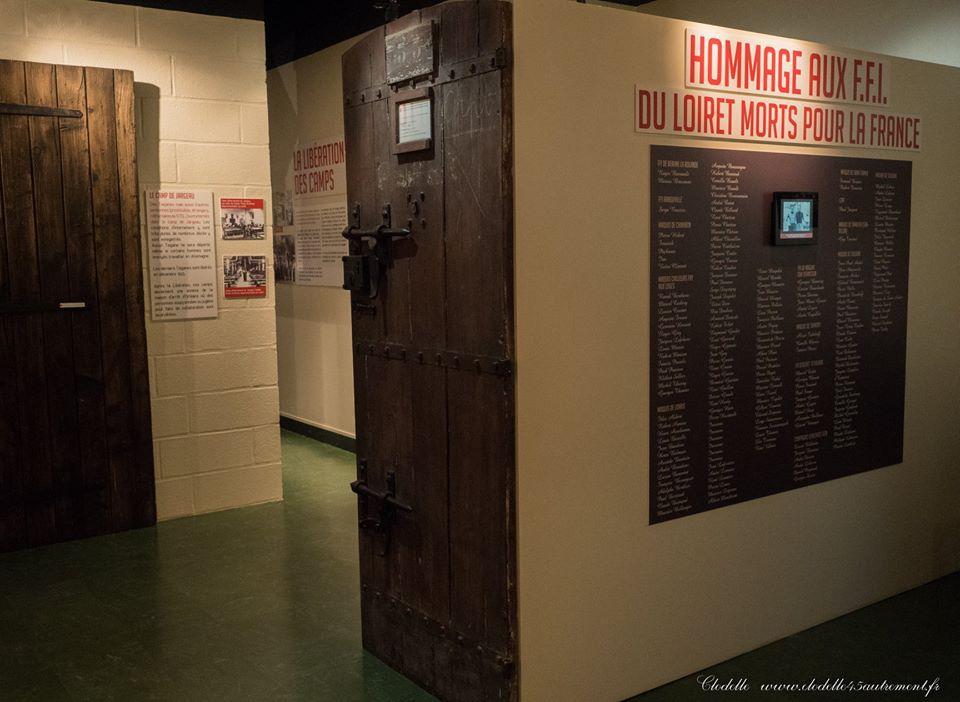 Musée de la Résistance et de la Déportation à Lorris (Loiret)