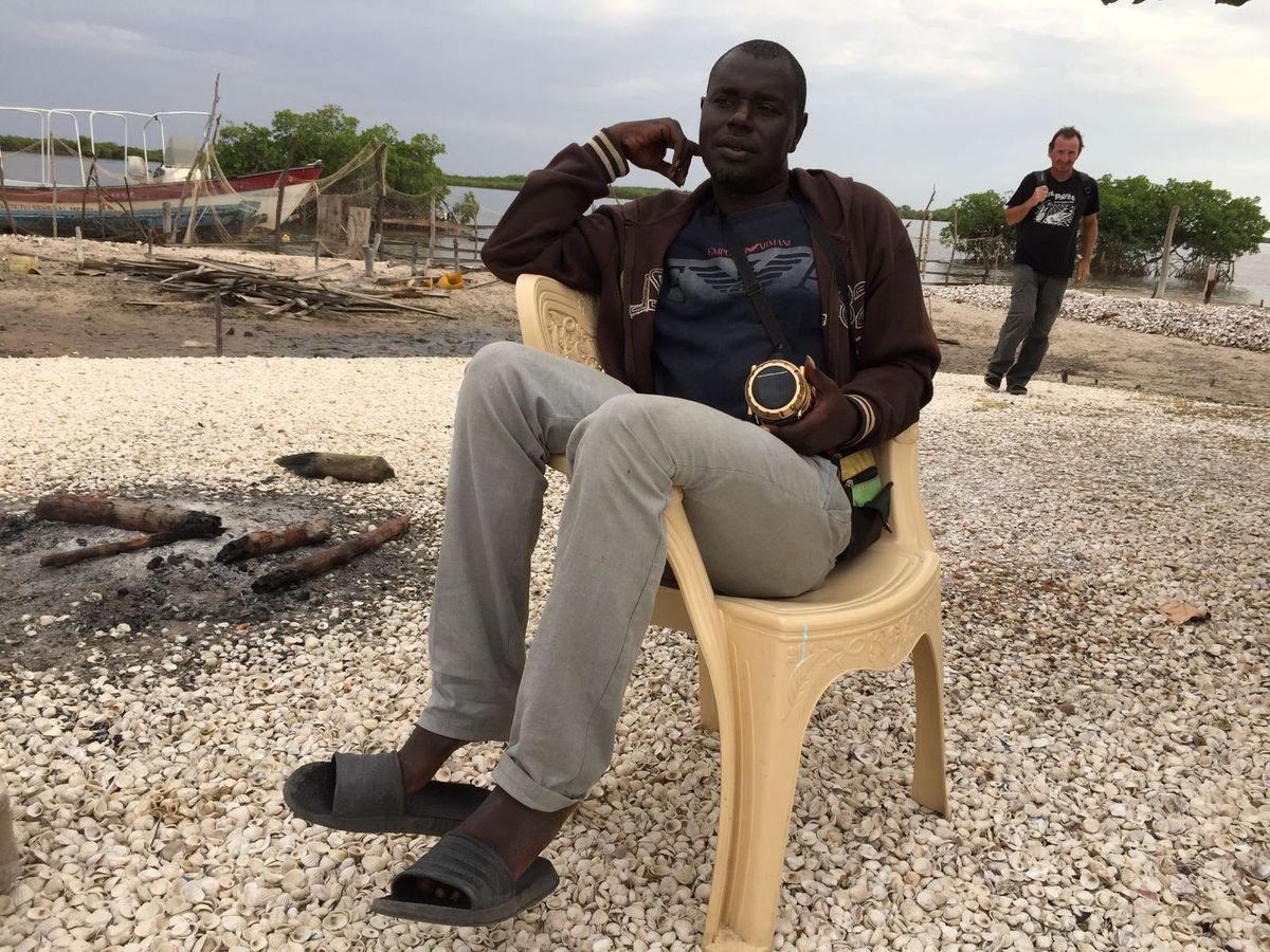 """Ibrahima Ndiaye, fils du chef du village de Diogane et """"animateur communautaire"""""""
