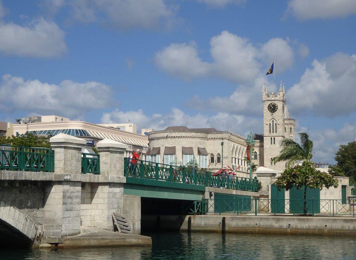 La maison du Parlement, au cœur de Bridgetown, date de 1870.