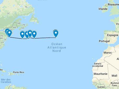 Lettre de l'Atlantique n°3 - En plein milieu de l'Océan