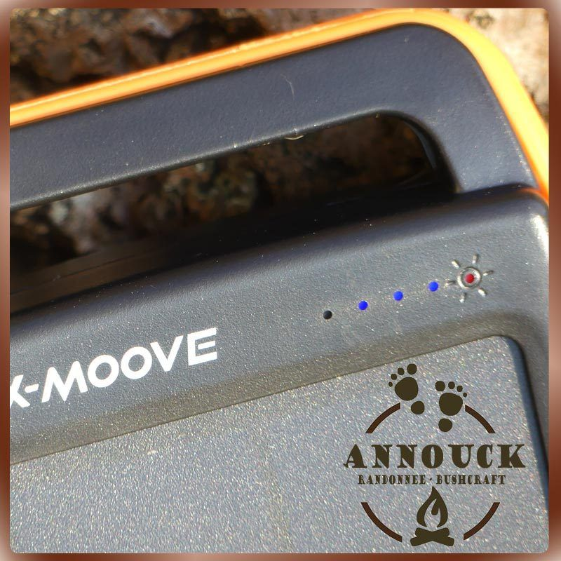 Charge solaire du Solargo Pocket X-Moove