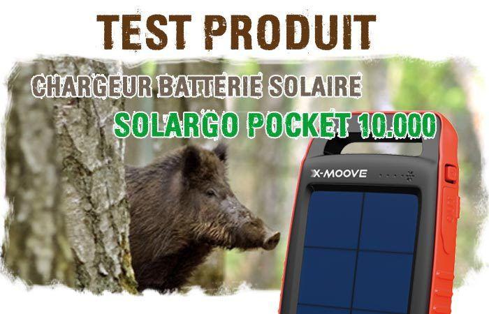 Test Chargeur Batterie Solaire SOLARGO 10.000