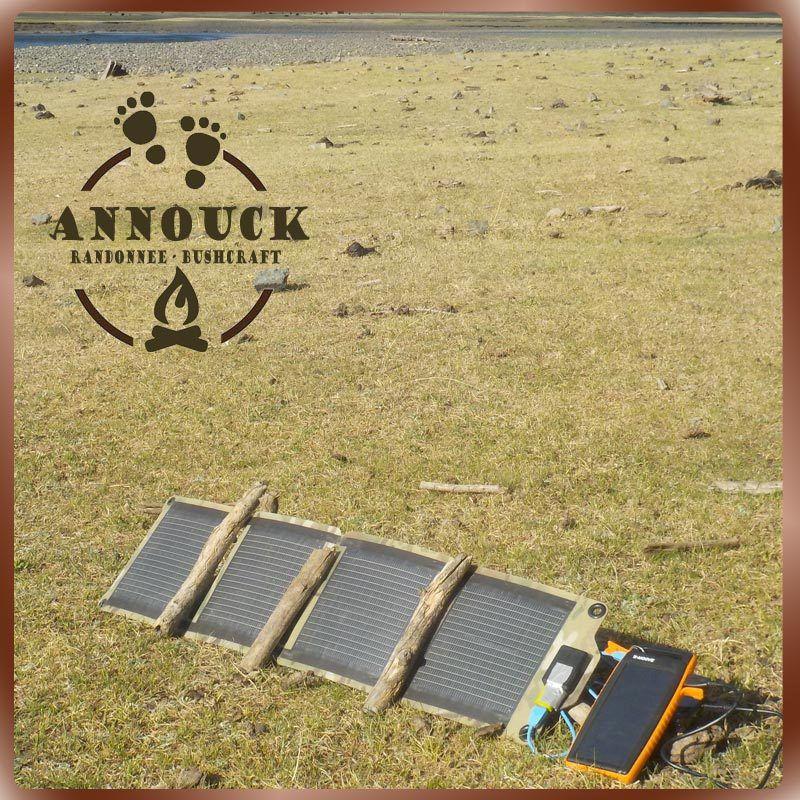 Solargo Pocket avec Panneau Solaire pliable Kickr IV