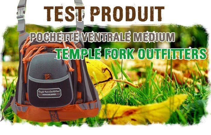 Pochette Ventrale Temple Fork Outfitters