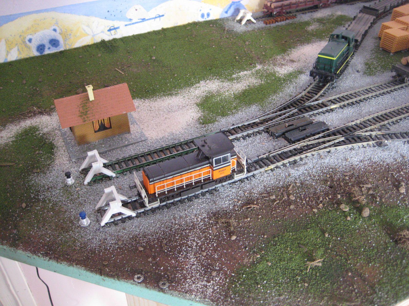 Création d'une scierie desservie par voie ferroviaire