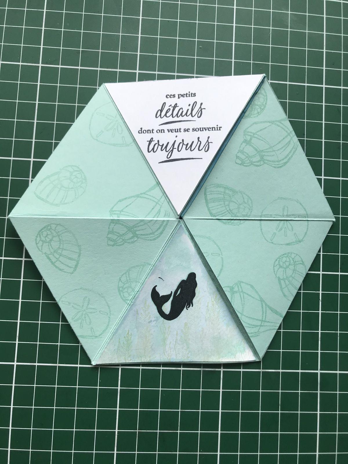 Mini album hexagonale