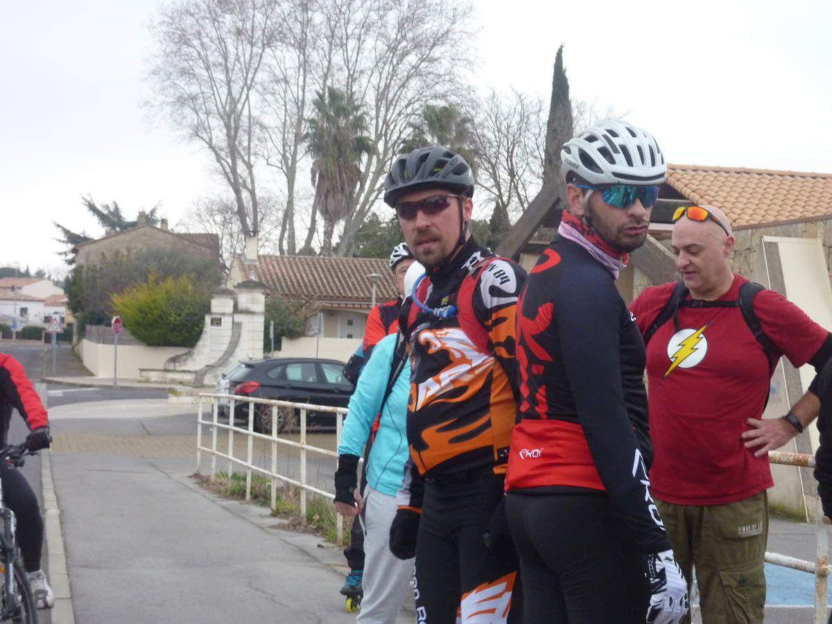 Roller Lib à Nîmes en randonnée roller à Palavas les Flots