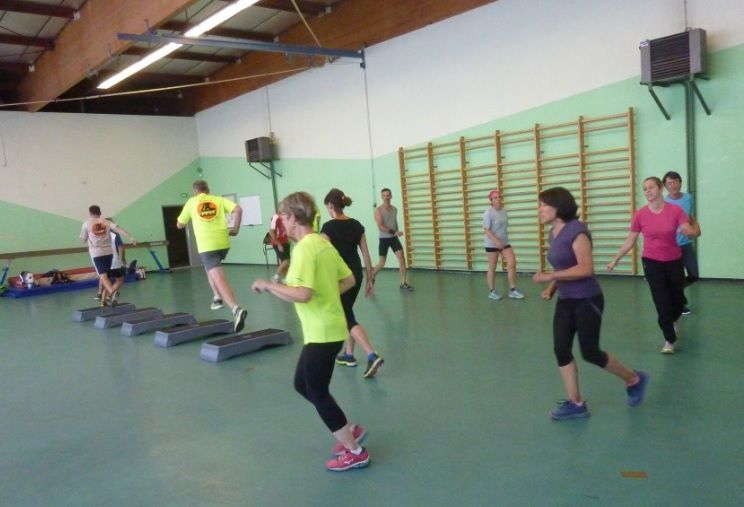 Roller Lib, gym, cours gainage, roller, Nîmes, Gard,