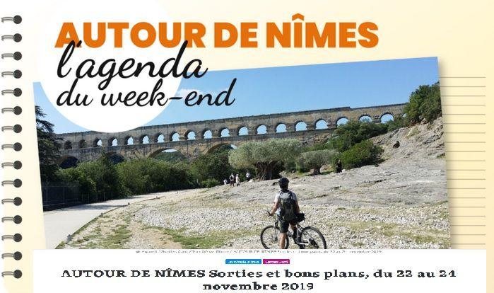 Objectif Gard, sortie sur Nîmes et dans le Gard,