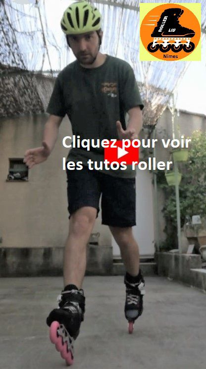Roller Lib, faire du roller à Nimes, cours patinage, ALEXIS VIVES