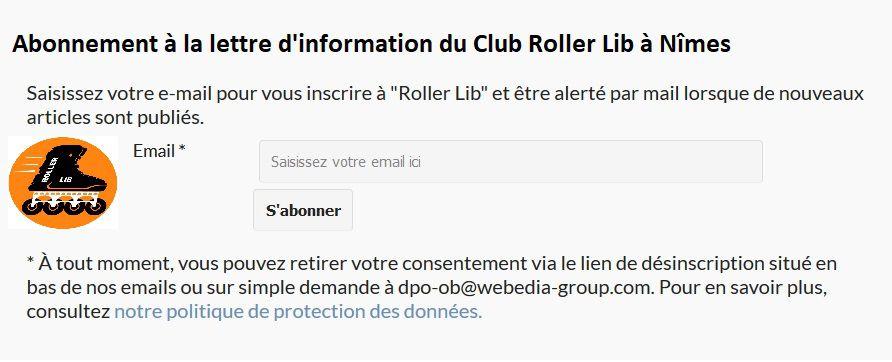 Roller lib à Nîmes, information Club de sports à Nimes,