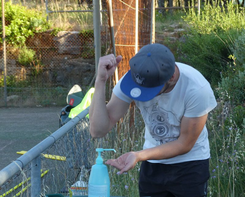 Roller Lib, mesure sanitaire sport Nîmes,