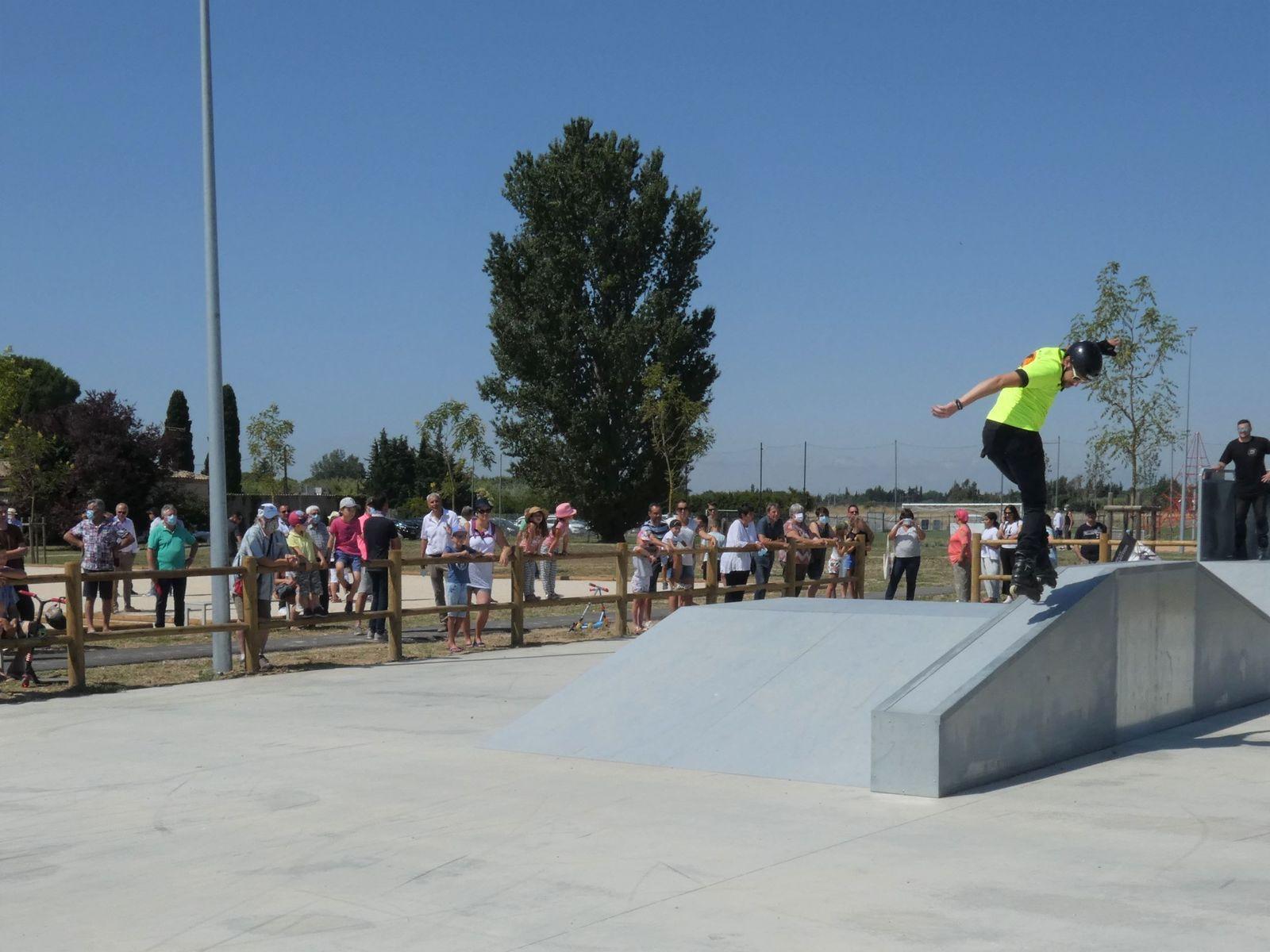 Roller Lib, skate Park, Ledge, fun Box, roller, free style, lanceur, Nîmes, Gard