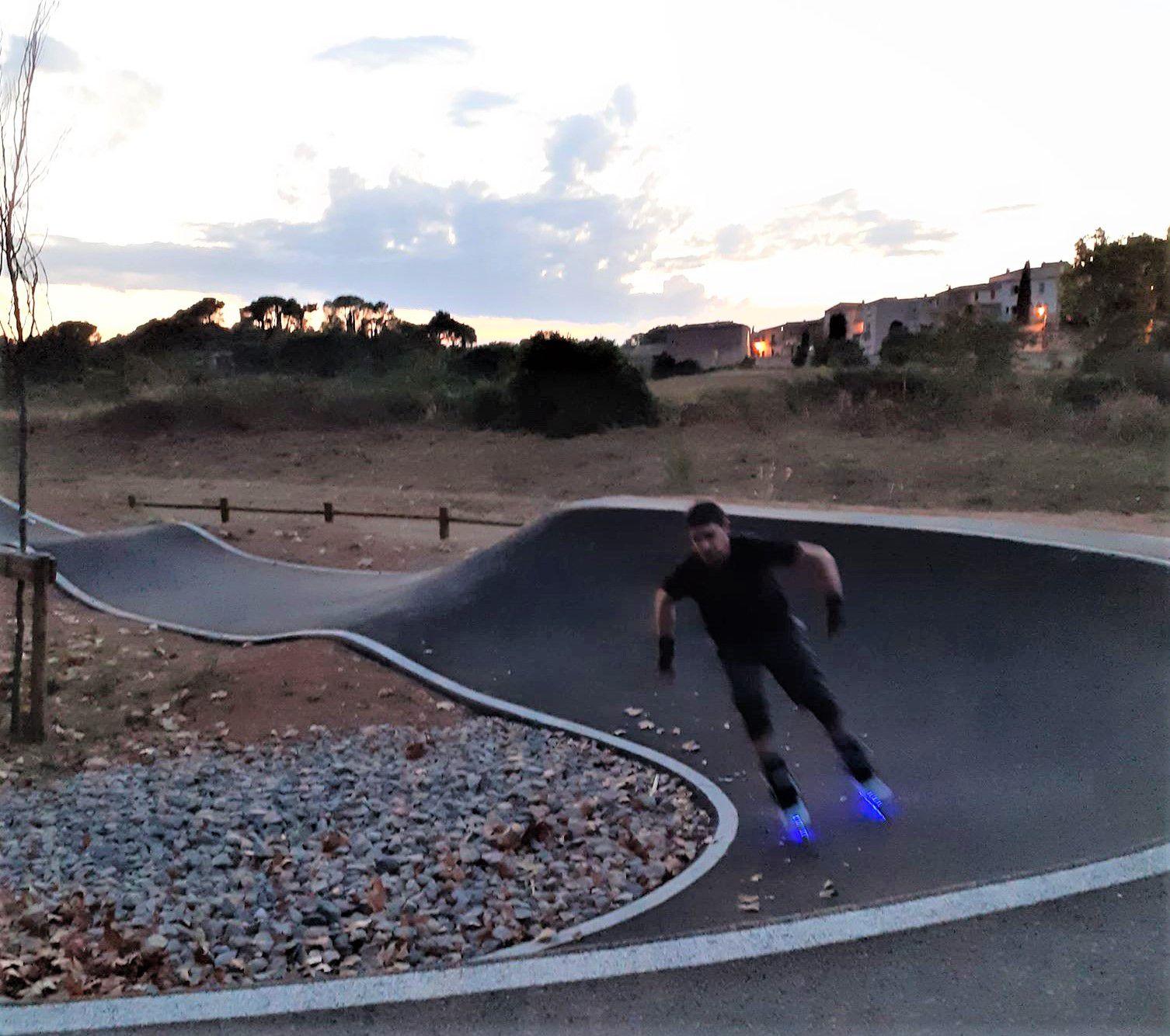 Roller Lib, apprendre le roller, club Nîmes, Gard