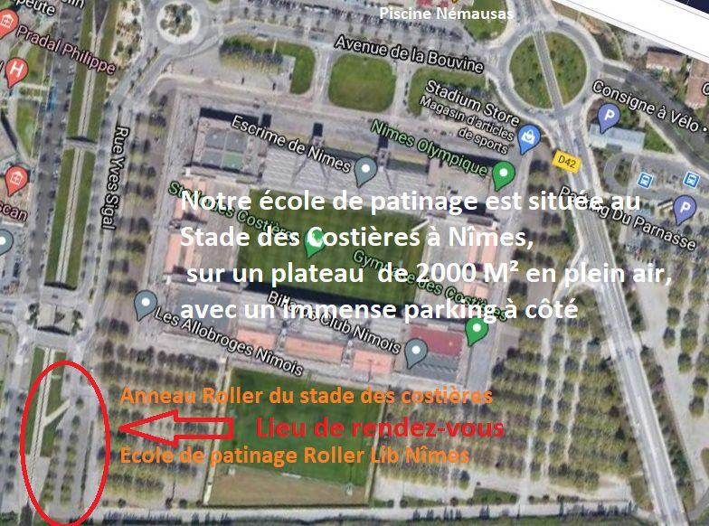 Roller Lib Nîmes, Club sport, cours, ecole, patinage, essai, gratuit,