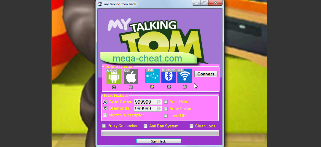 hack my talking tom 2 ios