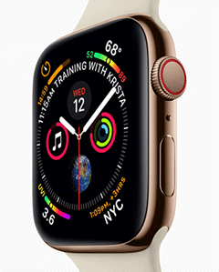 Nouvelle Apple Watch serie 4