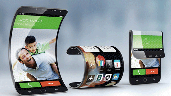 Samsung Galaxy X a ecran pliable