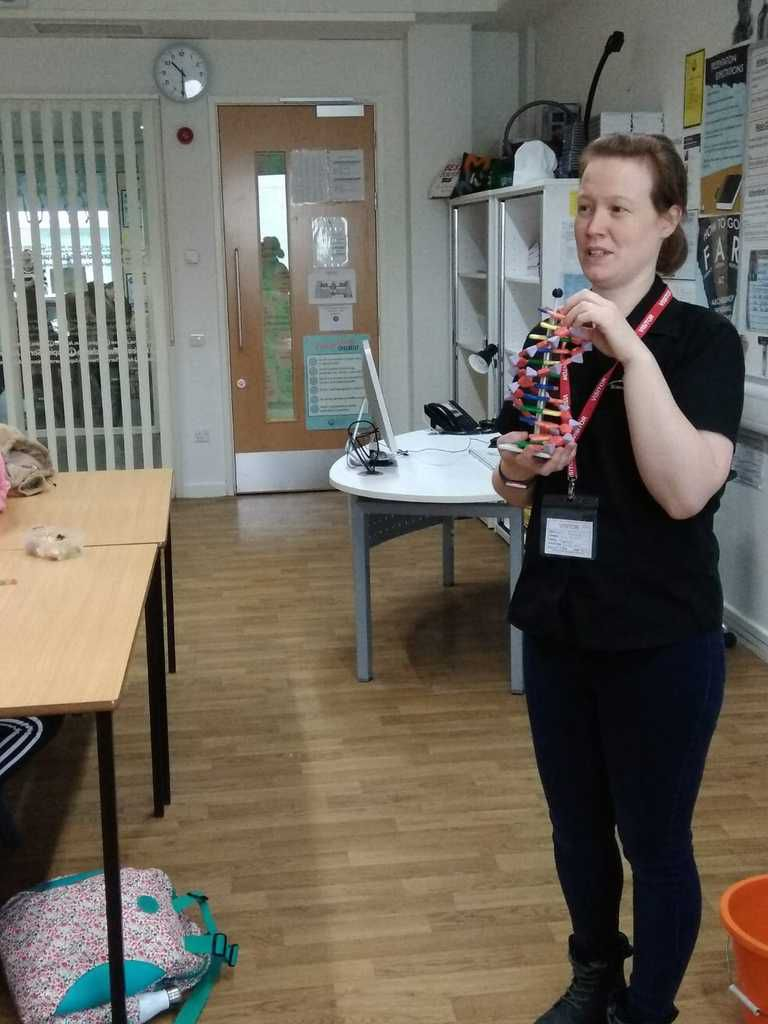 SMGB 19 Sciences Genes in a bottle (or rather a test tube!)