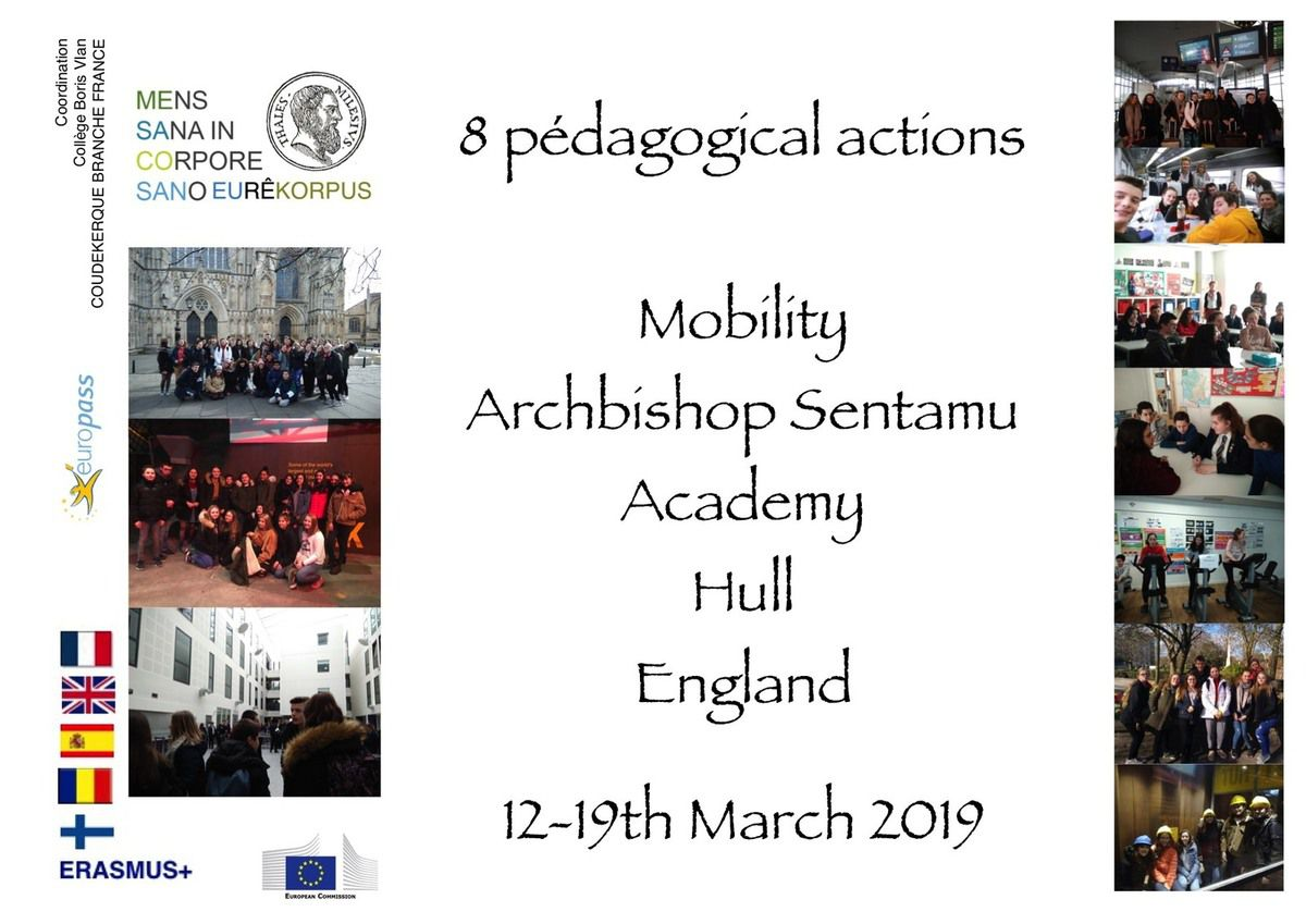 SMGB19 8 pedagocical actions in England
