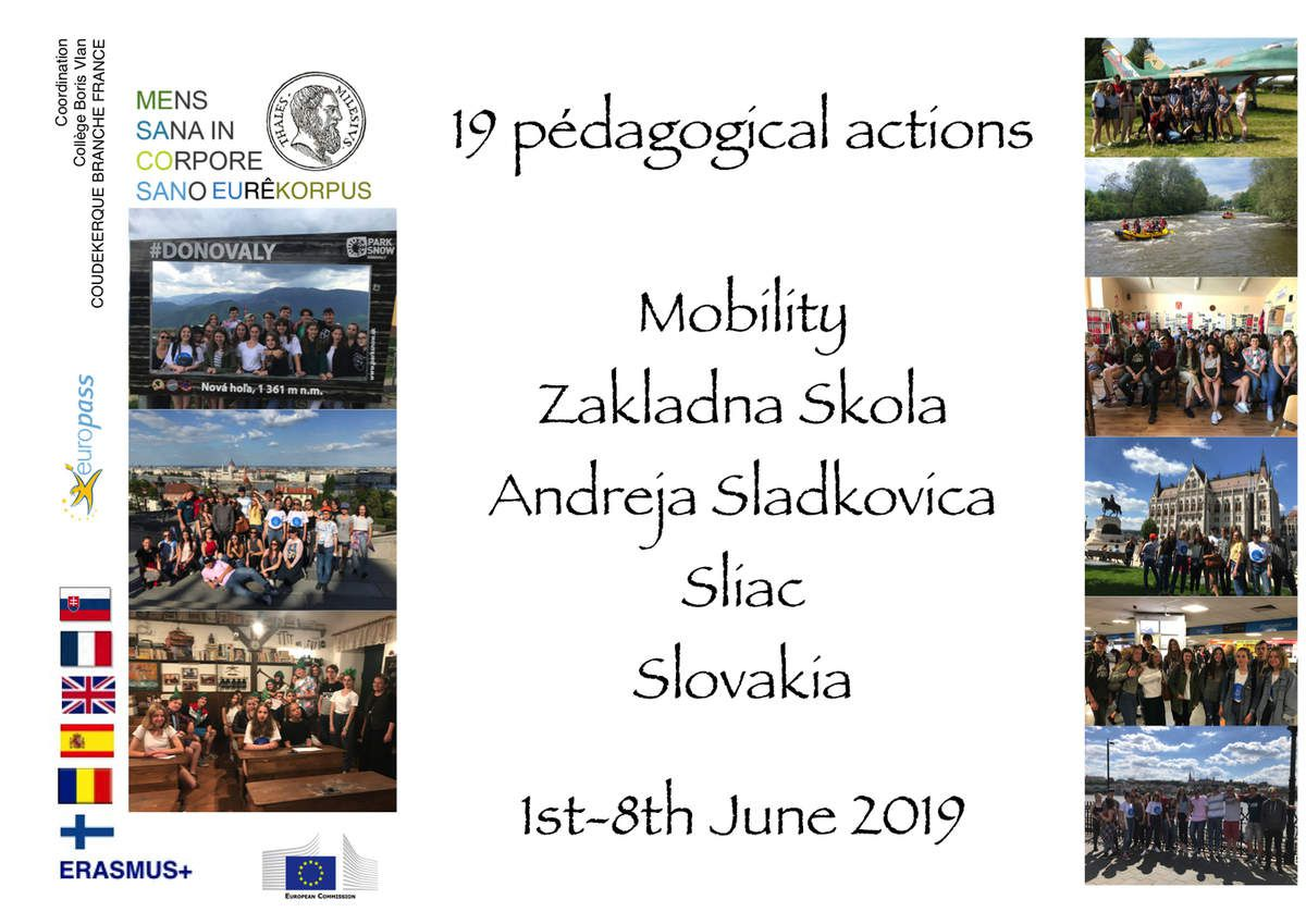 SMSL19.... 19 pedagogical actions in a week in Slovakia