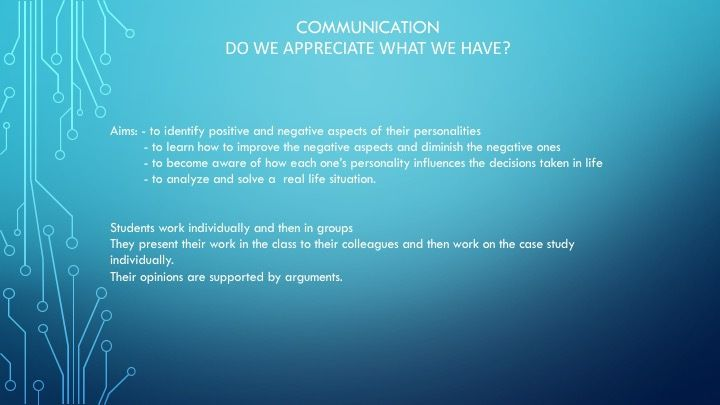 Communication-Do we appreciate what we have?