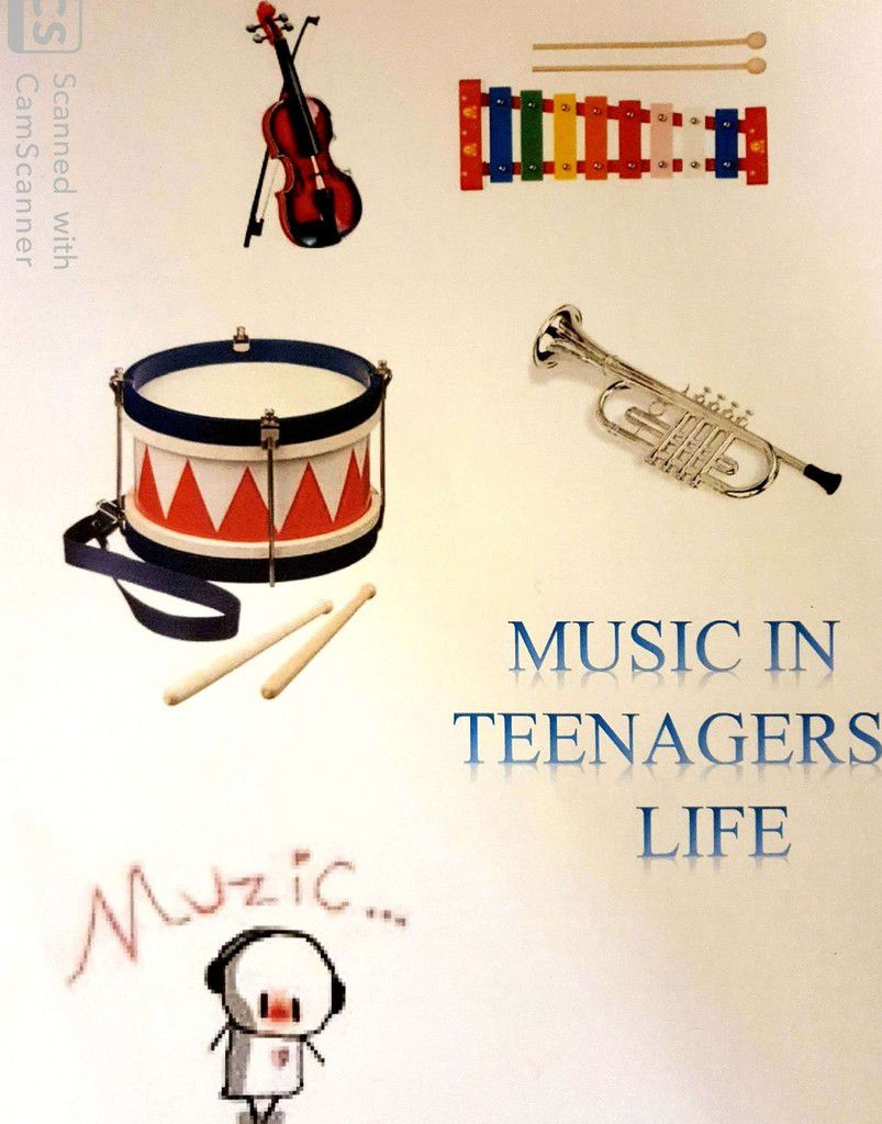 Creation- Music in teenagers'life