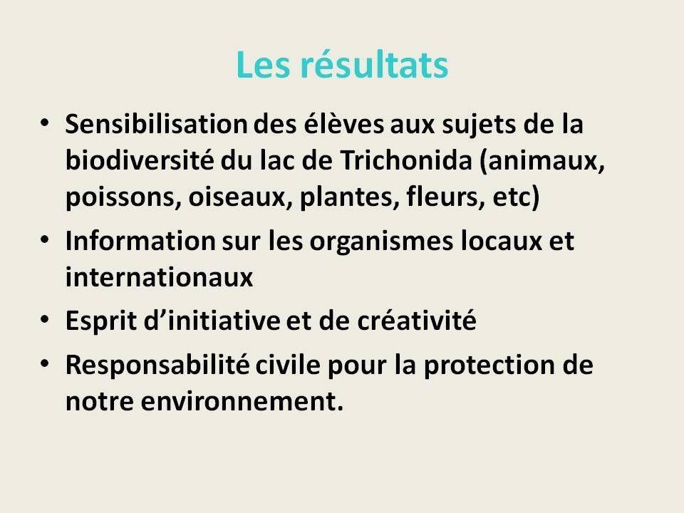 """AA Primaire  Grèce - """"Initiation au système écologique  du lac de Trichonida"""""""